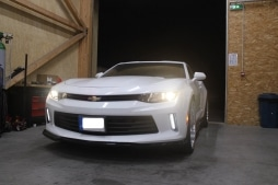 Suppression silencieux duplex Chevrolet Camaro 2018