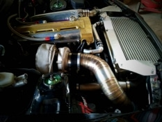 Piping turbo 4 pouces Toyota Supra