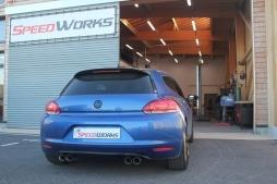 Downpipe et ligne sorties duplex VW sirocco 1.4 Tsi