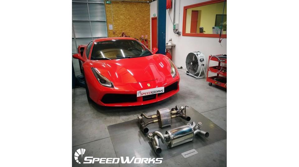 SpeedWorks - Système d'échappement